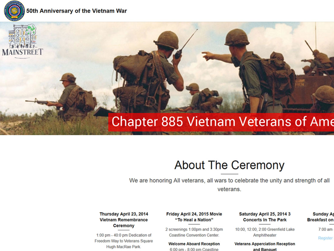 50th Anniversary of the Vietnam War